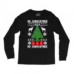 chemist element oh chemistree christmas sweater Long Sleeve Shirts | Artistshot