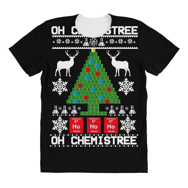 Chemist Element Oh Chemistree Christmas Sweater All Over Women's T-shirt | Artistshot