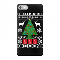 chemist element oh chemistree christmas sweater iPhone 7 Case | Artistshot