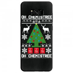 chemist element oh chemistree christmas sweater Samsung Galaxy S8 Case | Artistshot