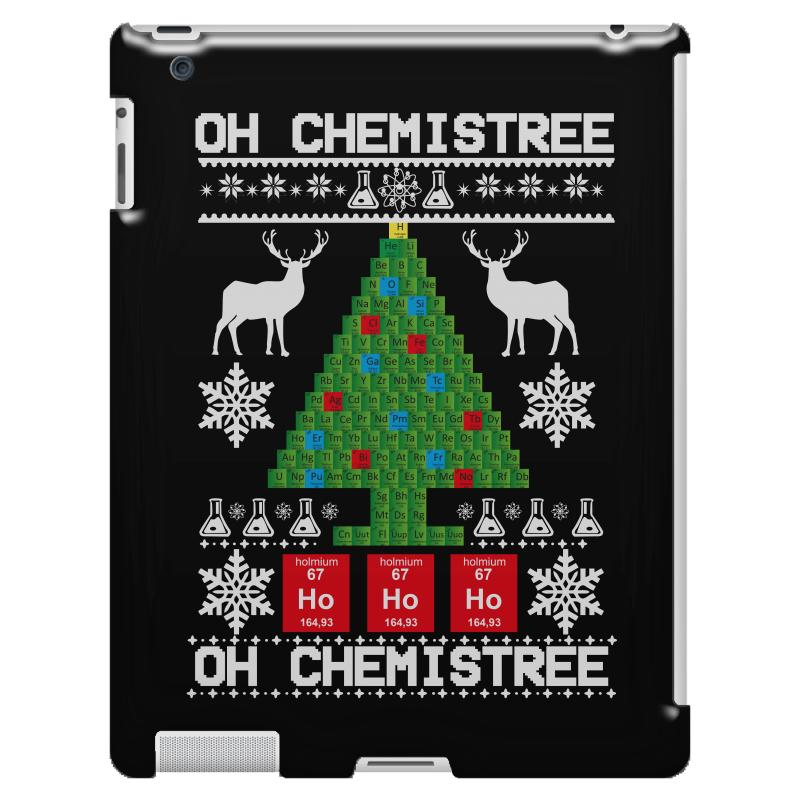 Chemist Element Oh Chemistree Christmas Sweater Ipad 3 And 4 Case | Artistshot
