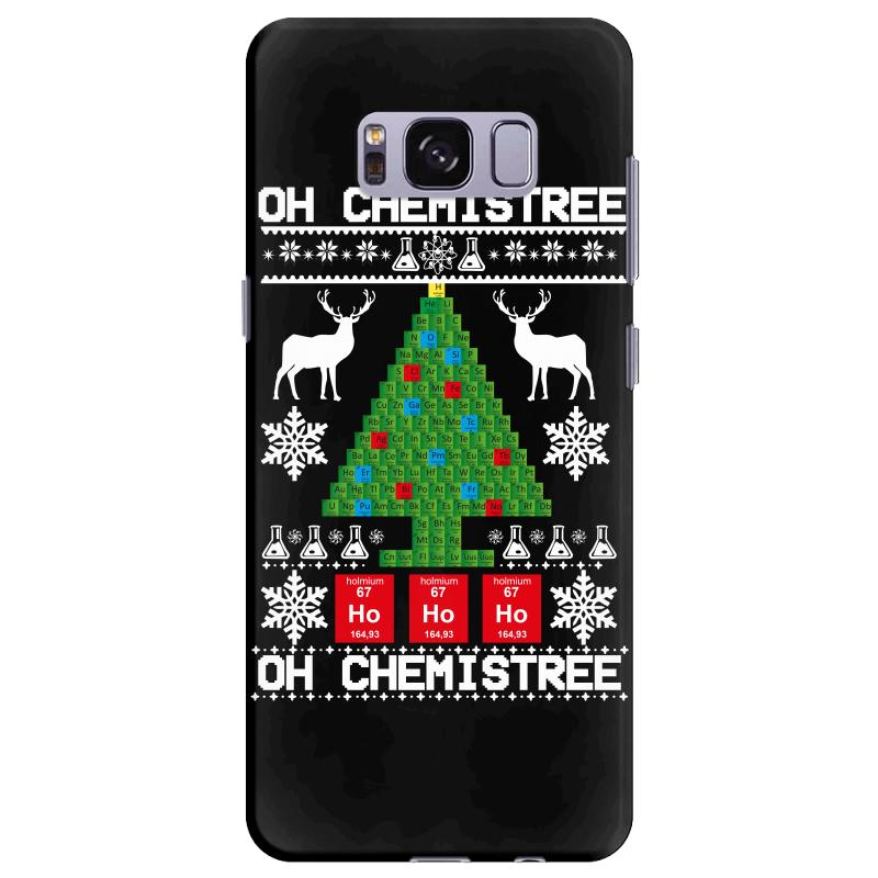 Chemist Element Oh Chemistree Christmas Sweater Samsung Galaxy S8 Plus Case | Artistshot