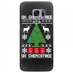 chemist element oh chemistree christmas sweater Samsung Galaxy S7 Edge Case | Artistshot