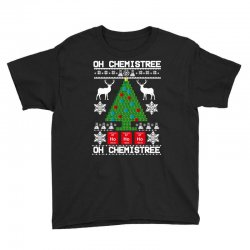 chemist element oh chemistree christmas sweater Youth Tee | Artistshot
