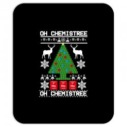 chemist element oh chemistree christmas sweater Mousepad | Artistshot
