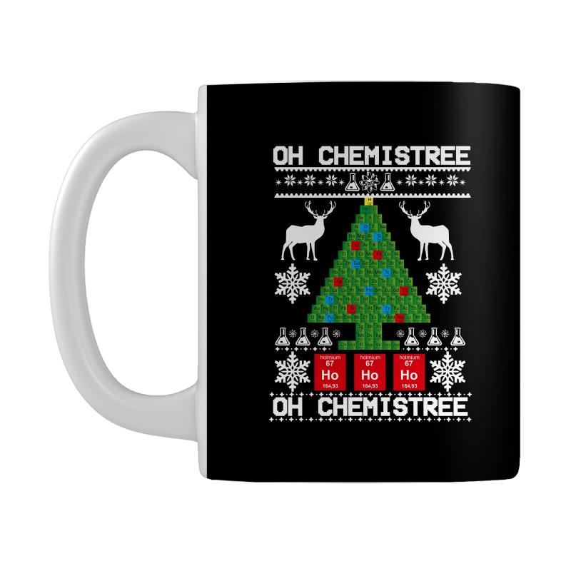 Chemist Element Oh Chemistree Christmas Sweater Mug | Artistshot