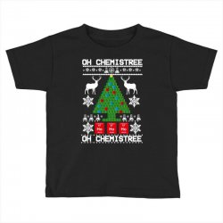 chemist element oh chemistree christmas sweater Toddler T-shirt | Artistshot