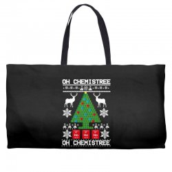 chemist element oh chemistree christmas sweater Weekender Totes | Artistshot