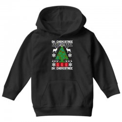 chemist element oh chemistree christmas sweater Youth Hoodie | Artistshot