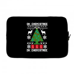 chemist element oh chemistree christmas sweater Laptop sleeve | Artistshot