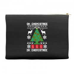 chemist element oh chemistree christmas sweater Accessory Pouches | Artistshot
