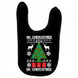 chemist element oh chemistree christmas sweater Baby Bibs | Artistshot