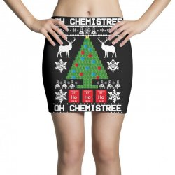 chemist element oh chemistree christmas sweater Mini Skirts | Artistshot