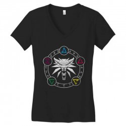 camiseta witcher Women's V-Neck T-Shirt | Artistshot