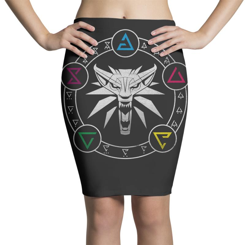 Camiseta Witcher Pencil Skirts | Artistshot