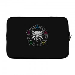 camiseta witcher Laptop sleeve | Artistshot