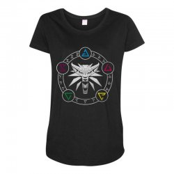 camiseta witcher Maternity Scoop Neck T-shirt | Artistshot