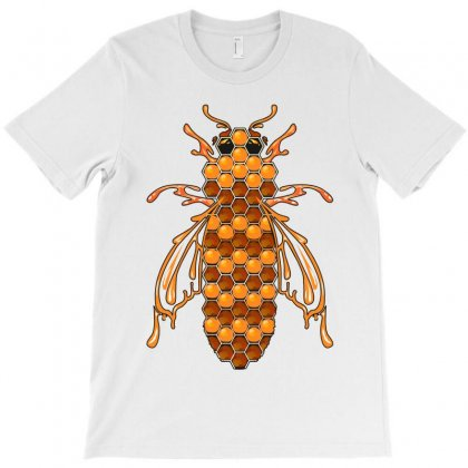 Honey Bee Ii T-shirt Designed By Wizarts