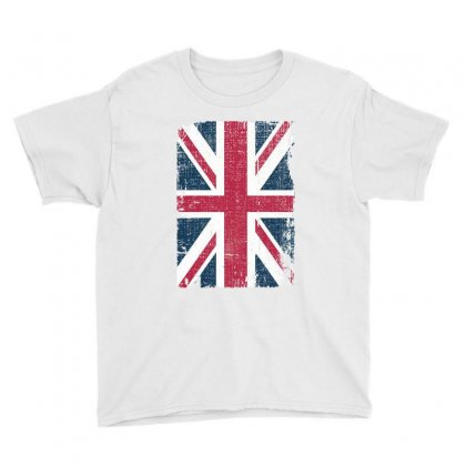 Britain Grunge Flag Youth Tee Designed By Sengul