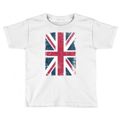 Britain Grunge Flag Toddler T-shirt Designed By Sengul