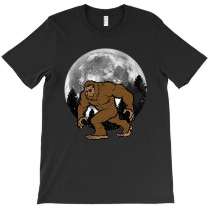 Bigfoot T-shirt Designed By Nurbetulk