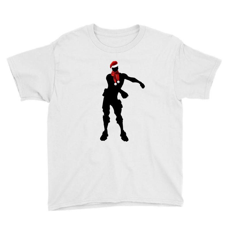 7ec8cc21e3204f Custom Fortnite Floss Christmas Youth Tee By Sengul - Artistshot