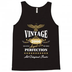 vintage 2000 aged to perfection limited edition Tank Top | Artistshot