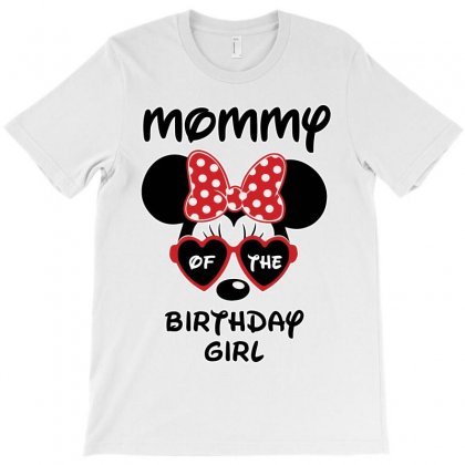 Mommy Of The Birthday Girl T-shirt Designed By Akin