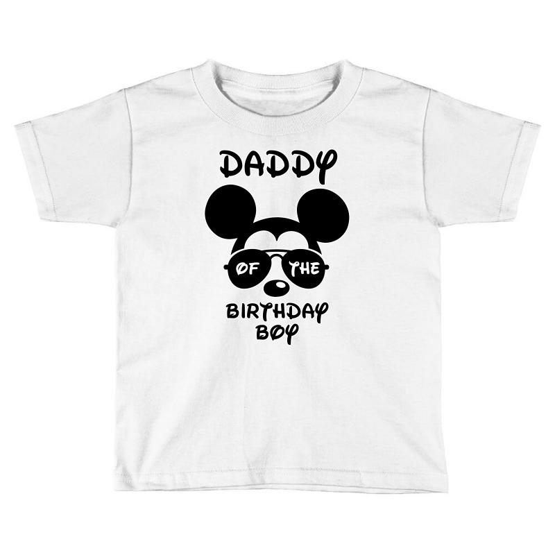 Daddy Of The Birthday Boy Toddler T Shirt