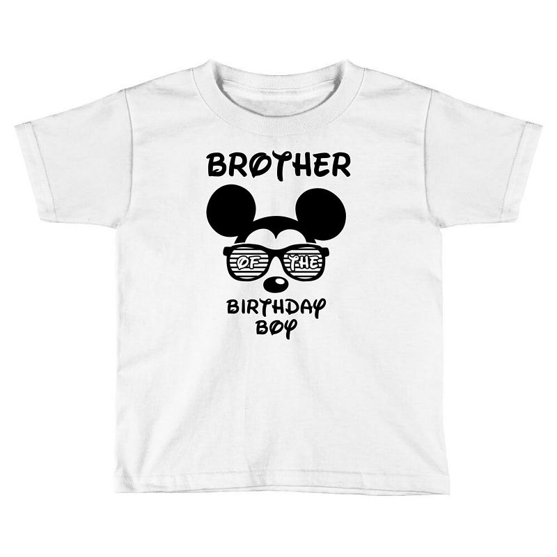 Brother Of The Birthday Boy Toddler T Shirt