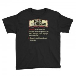 diesel technician dictionary term sarcastic Youth Tee | Artistshot