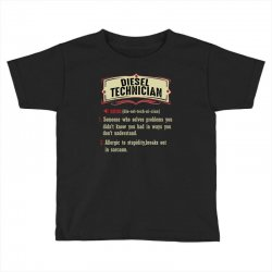 diesel technician dictionary term sarcastic Toddler T-shirt | Artistshot