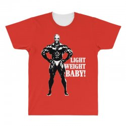 48a590783832c Custom Ronnie Coleman Light Weight Baby All Over Men s T-shirt By ...
