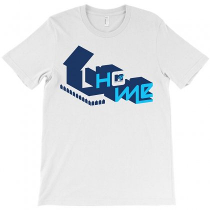 Tv Home T-shirt Designed By Allstreet