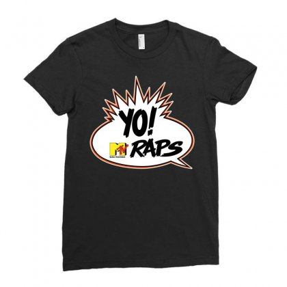 Tv Yo Raps Ladies Fitted T-shirt Designed By Allstreet