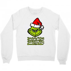 maybe christmas grinch Crewneck Sweatshirt | Artistshot