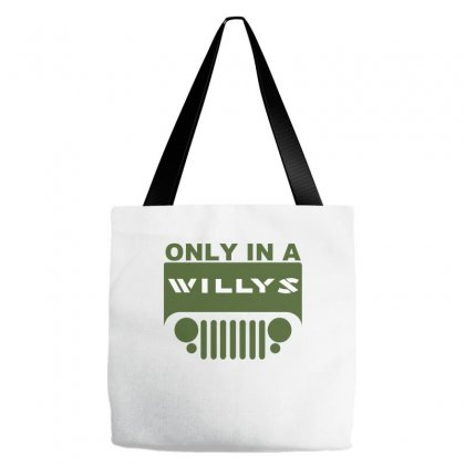 Jeep Willys Tote Bags Designed By Ewanhunt