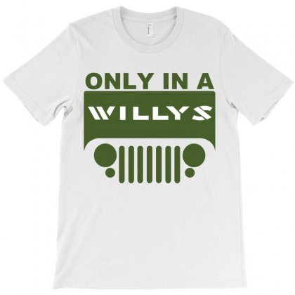 Jeep Willys T-shirt Designed By Ewanhunt