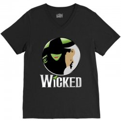broadway musical wicked V-Neck Tee | Artistshot
