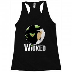 broadway musical wicked Racerback Tank | Artistshot
