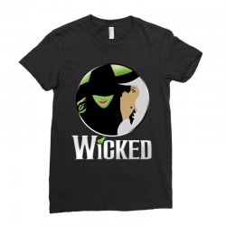 broadway musical wicked Ladies Fitted T-Shirt | Artistshot