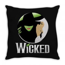 broadway musical wicked Throw Pillow | Artistshot