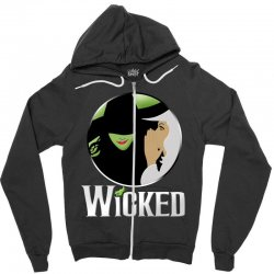 broadway musical wicked Zipper Hoodie | Artistshot