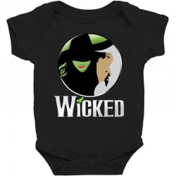 broadway musical wicked Baby Bodysuit | Artistshot