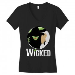 broadway musical wicked Women's V-Neck T-Shirt | Artistshot