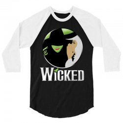 broadway musical wicked 3/4 Sleeve Shirt | Artistshot