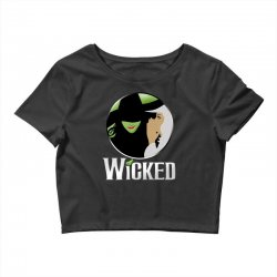 broadway musical wicked Crop Top | Artistshot