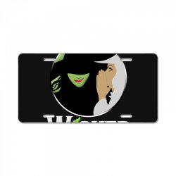 broadway musical wicked License Plate | Artistshot