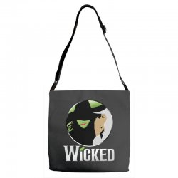 broadway musical wicked Adjustable Strap Totes | Artistshot