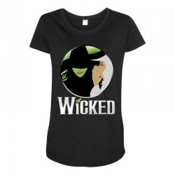 broadway musical wicked Maternity Scoop Neck T-shirt | Artistshot